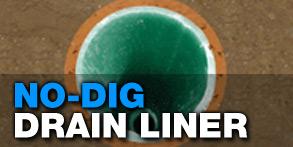 no dig drain pipe liner