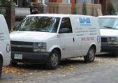 plumbing work van