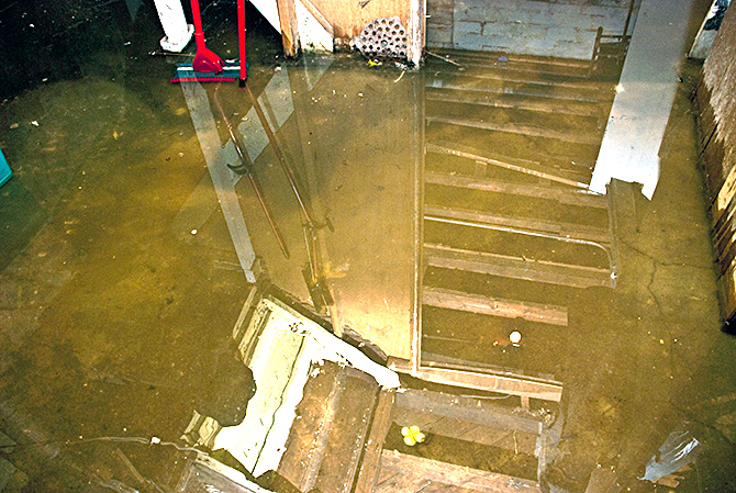 spring s arrival means it s time to check for basement flooding
