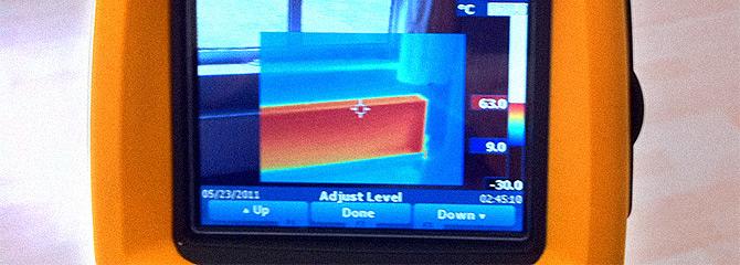 thermal-imaging-device-detecting-water-leak