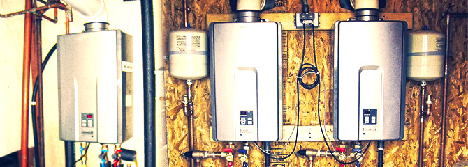 tankless hot water heaters