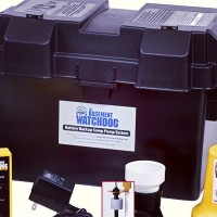 picture of a sump pump battery backup system