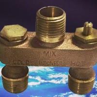 anti-sweat valve to keep a toilet dry