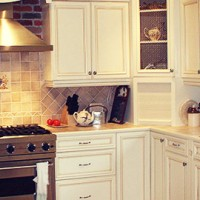 kitchen after being renovated