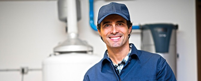 friendly toronto plumbing contractor ready to perform plumbing inspection