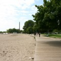 toronto beaches board walk near homes that need sump pump