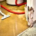 flooded basement inside of a toronto home