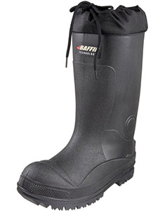 heavy duty rubber boot for entering into a flooded basement