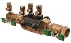 double check valve assembly on white background - ADP Backflow prevention testing and installation