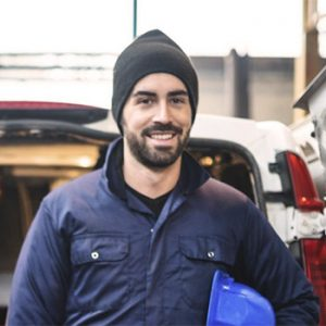 toronto plumber about to head out to service call