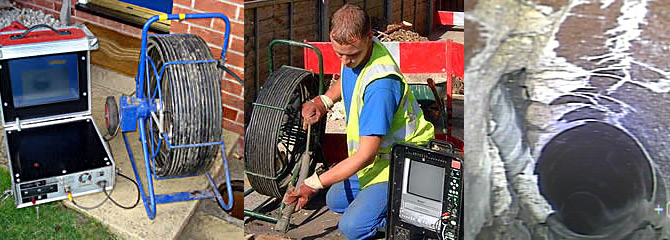 Drain camera inspection - one toronto Plumbing